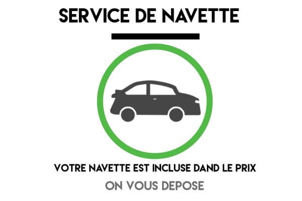 NAvette roissy parking Ecopark