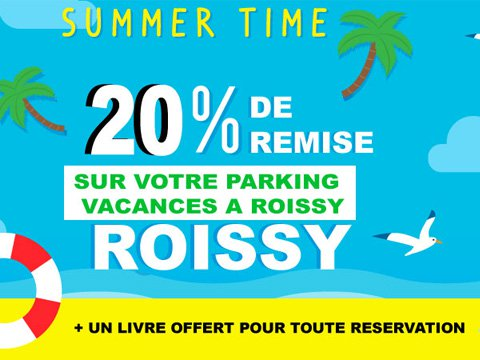 code promo parking roissy